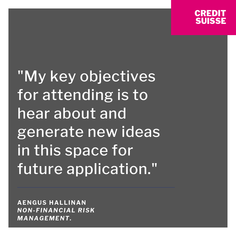 Attendee Quote - Credit Suisse